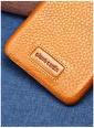 Pierre Cardin PCSS05 iPhone XS Max (6.5) Klasik Deri Arka Kapak Telefon Kılıfı Renksiz